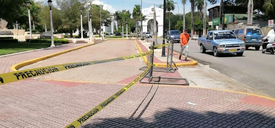 Ayuntamiento mantiene la clausura de todos los parques debido a la pandemia del coronavirus